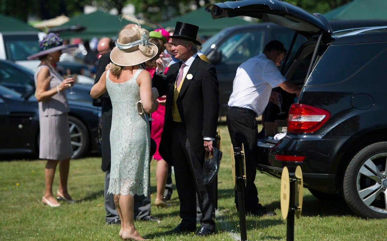 Royal Ascot 2017: Cadillacs And Chandeliers In A Car Park Like No Other photo