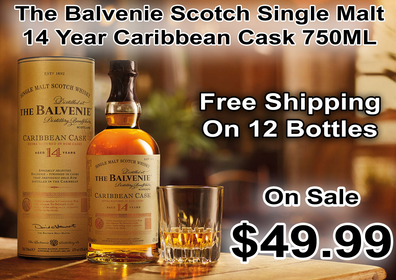 The Balvenie Scotch Single Malt 14 Year Caribbean Cask 750ML photo