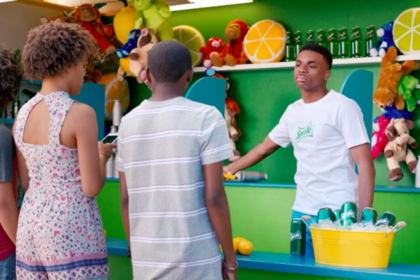 Vince Staples Works At Carnival In New Sprite Commercial photo