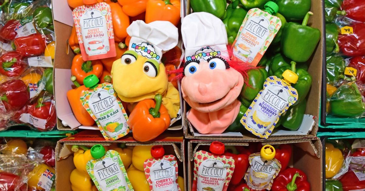 Morrisons Introduce Puppets To Stores To Teach Kids Importance Of Healthy Foods photo