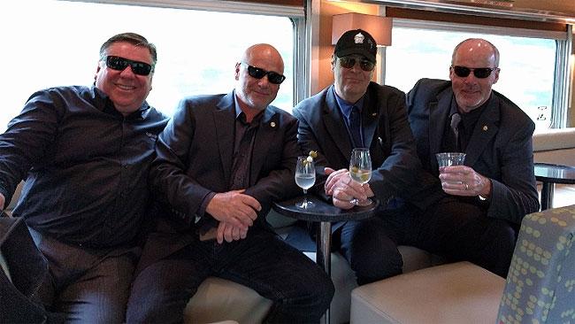Dan Aykroyd Sips Vodka, Ponders Kathy Griffin Mess On Via Rail Train photo
