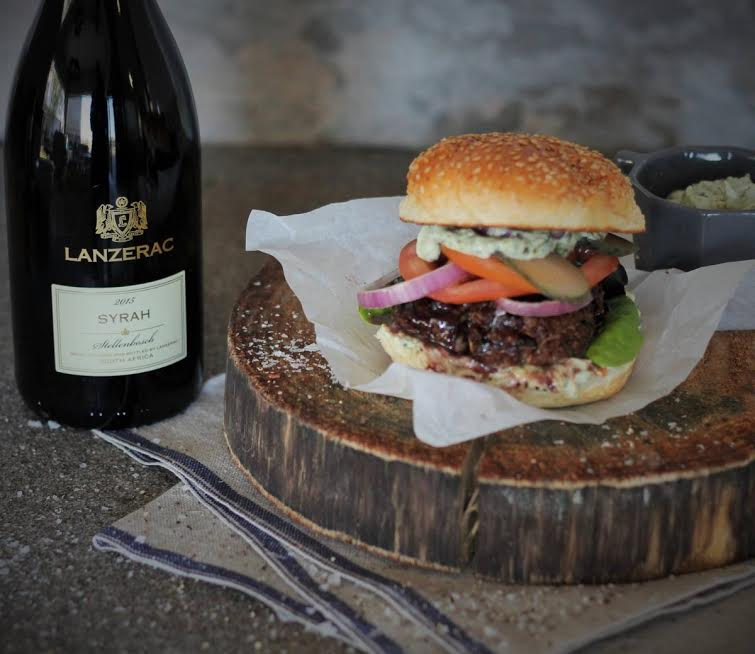 Beef Burger with Syrah Jus photo