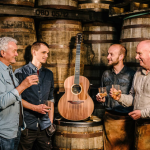 Bushmills crafts limited edition guitar from whiskey barrels photo