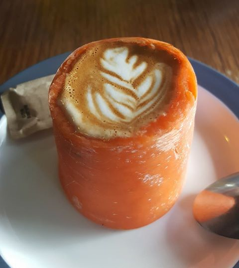Coffee hipsters have finally gone too far with the Carrot-cino photo