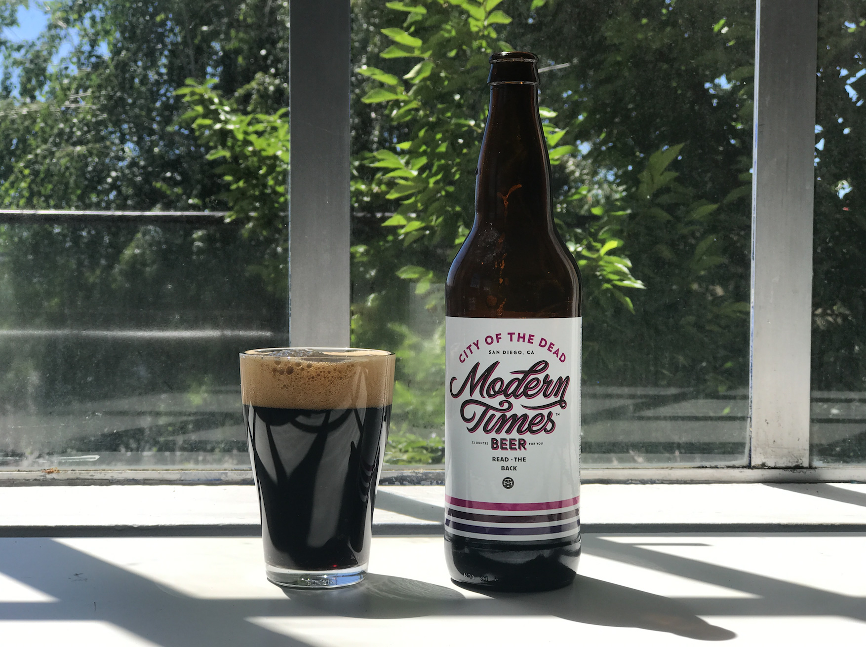 Coffee Beer: City Of The Dead By Modern Times Beer photo