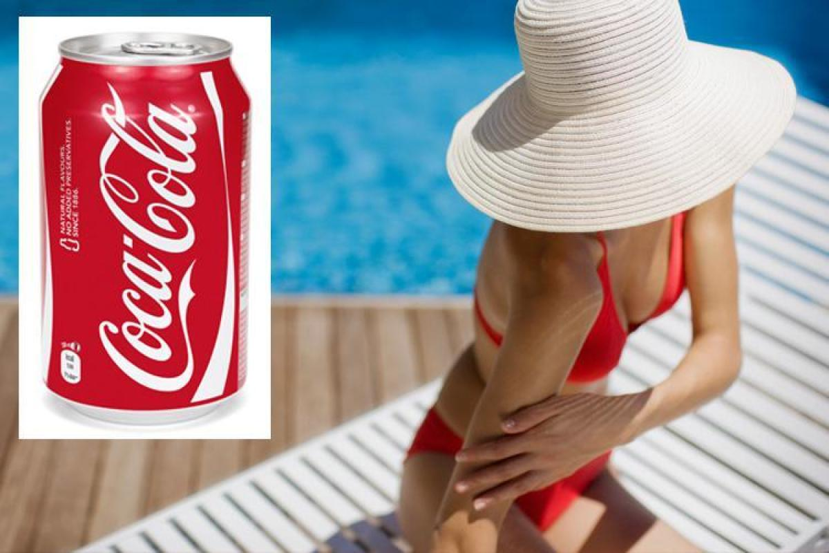 People Are Slathering Coca-cola Over Their Bodies In Dangerous Tanning Trend photo