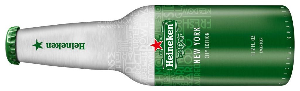 Heineken Introduces New Limited-edition Aluminum Bottles In Select Cities photo