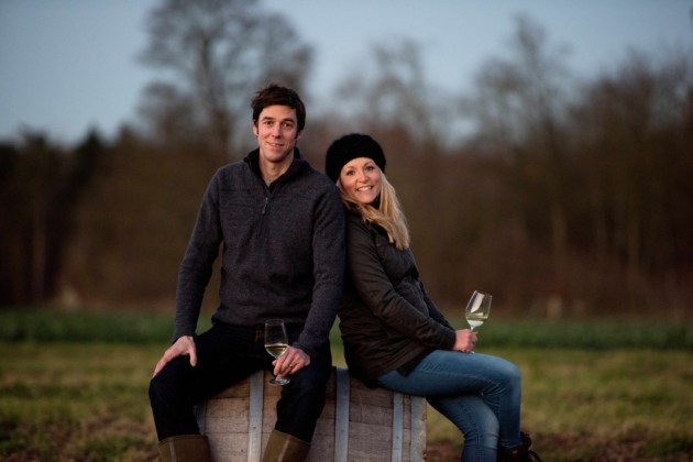 Flint Vineyard, At Earsham, Near Bungay, Scoops Coveted East Anglian Wine Of The Year 2017 Title At The Annual East Anglian Vineyards Association Awards photo