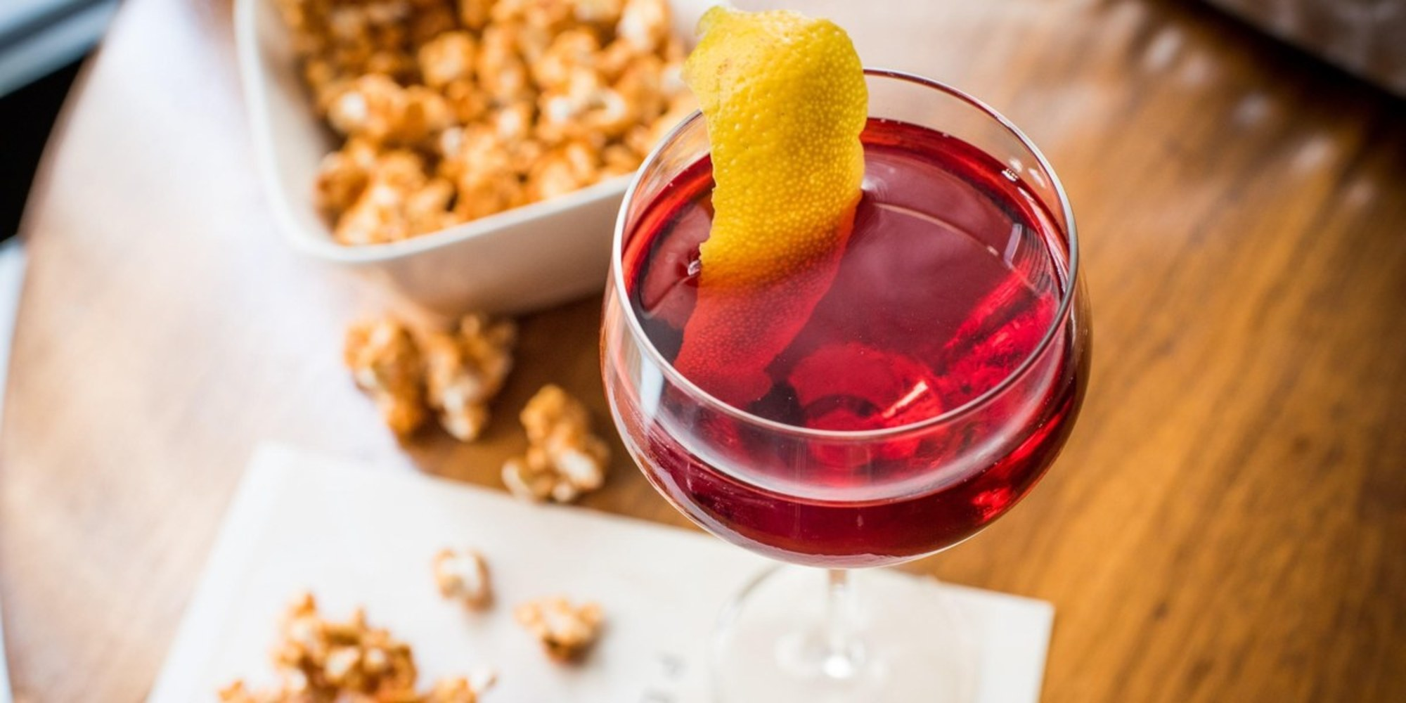 Slushies, Donuts, And Popcorn: Negroni Week      Utmcampaigndata = {             'campaignname': photo