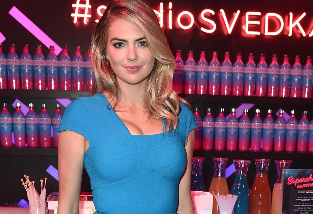 Kate Upton Flattered Her Figure With This Very Simple Heel & Hemline Style photo