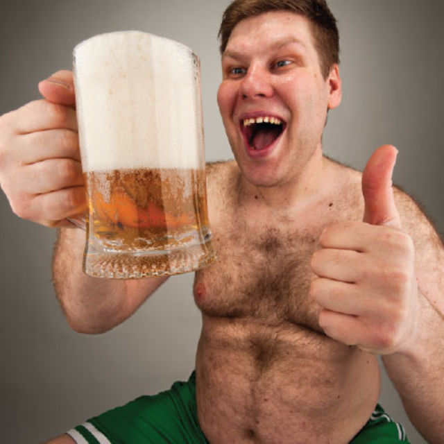 Guys watch out! Your favourite pint of beer could be giving you MAN BOOBS photo