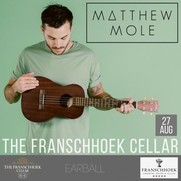Catch Matthew Mole live at The Franschhoek Cellar photo