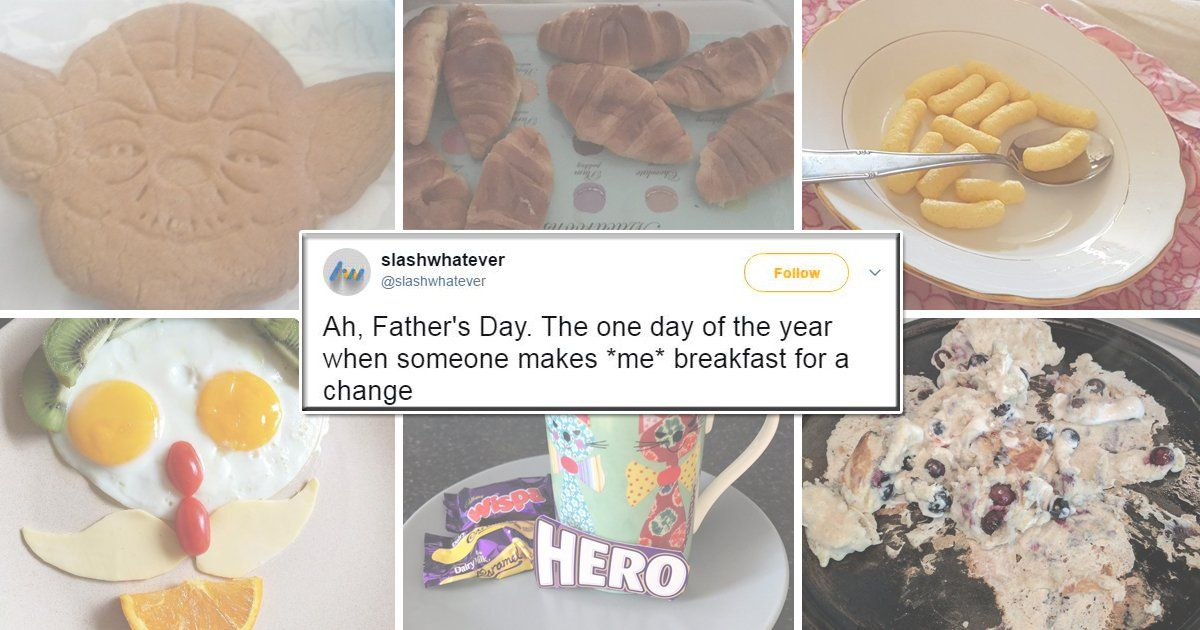 The Best And Worst Of Breakfasts Given To Dads On Father's Day photo