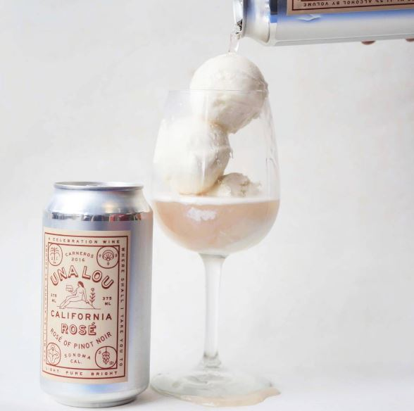 Rosé Ice Cream Is Here To Dominate Your Wine Game This Summer photo