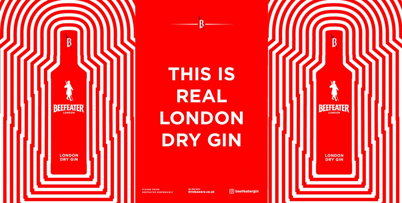 Beefeater Gin Embarks On 'urban' Brand Relaunch With First Uk Ooh Campaign In 12 Years photo