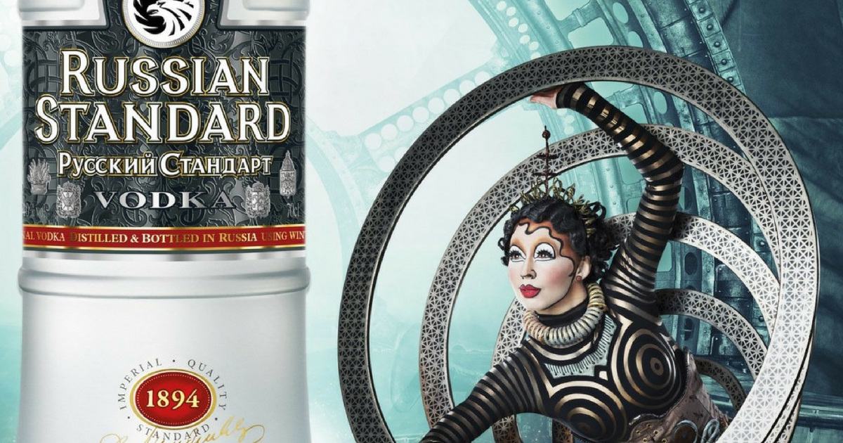 Vodka Brand Russian Standard Pairs Up With Cirque Du Soleil photo