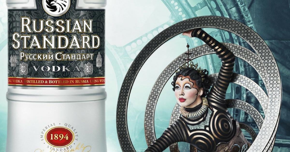 Vodka Brand Russian Standard Pairs Up With Cirque Du Soleil photo