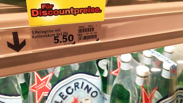 Srf Sendungen: Versteckter Preisaufschlag – San Pellegrino: Kleinere Flasche, Grösserer Preis photo