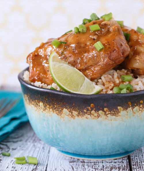 Honey Soy Chicken made in a Slow Cooker photo