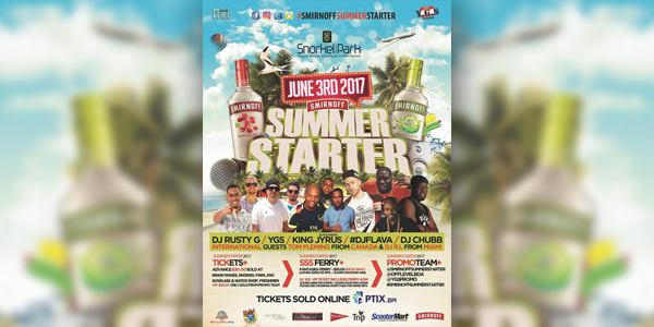 Smirnoff Summer Starter Set For June 3 photo