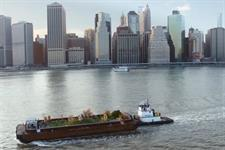 Strongbow Brings Floating Apple Orchard To The Big Apple photo