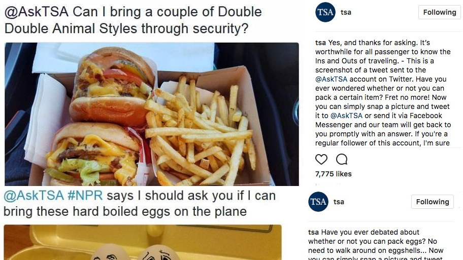 Secrets From The Hero Behind The Hilarious @tsa Instagram photo