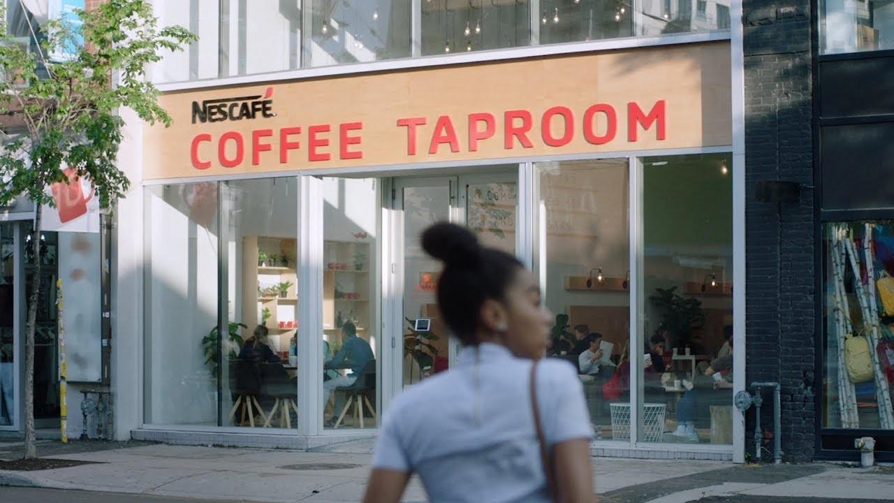Nescafé: Nescafe Sweet & Creamy Coffee Taproom By Workinprogress photo