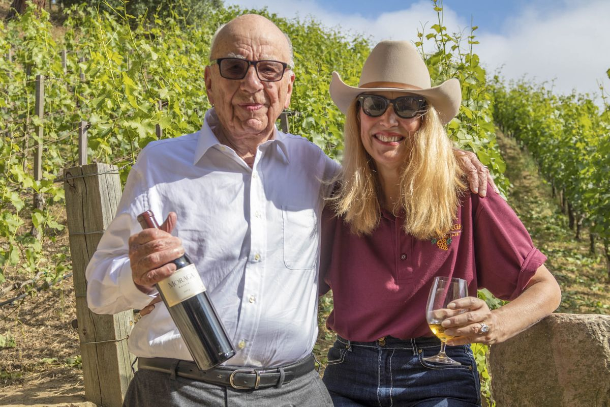 Can Rupert Murdoch Make A Profit On His Tiny Bel Air Winery? photo