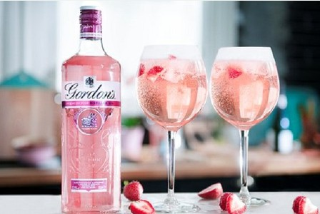 Gordons Have Launched A Limited Edition Pink Gin And It Is Perfect For Summer photo