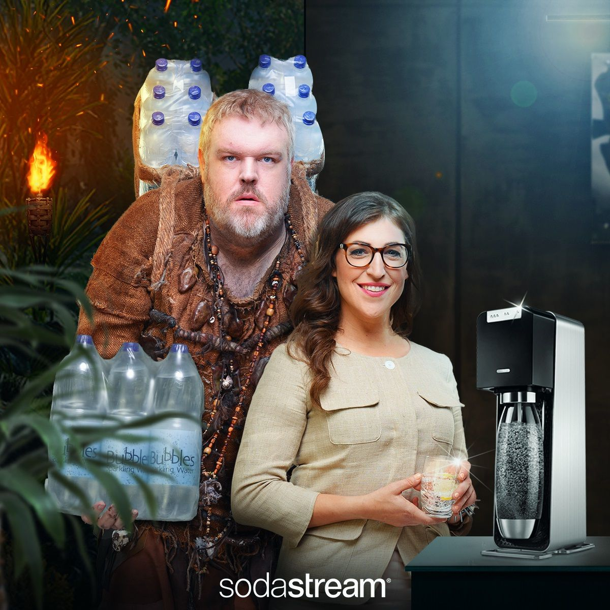 Sodastream Campaign Highlights 'primitive' Use Of Plastic Bottles photo