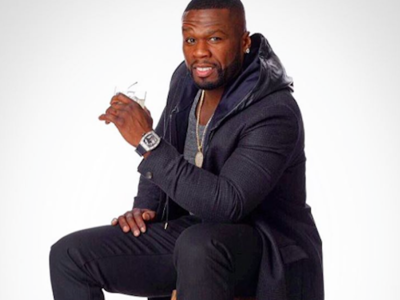 50 Cent's Not Effen W/ Vodka Anymore, Waves Flag In Diddy Ciroc War? ? Sohh.com photo
