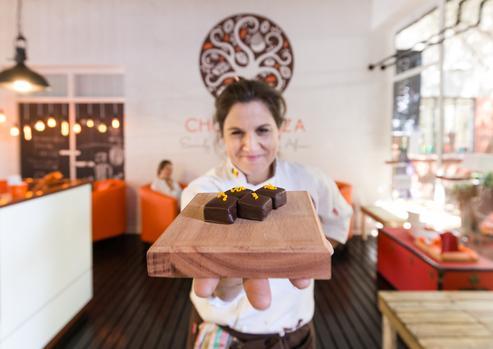 Creating Chocolate And Coffee Sensations! photo
