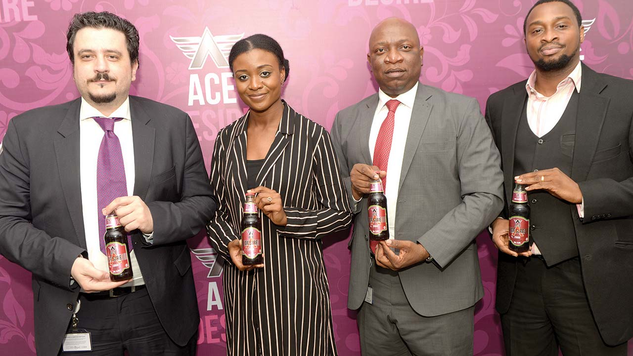 Nigeria Breweries Launches Ace Desire, A Zobo-flavoured Spirit Drink photo