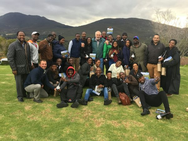 Bouchard Finlayson treats members of BLACC to an exclusive wine tasting photo