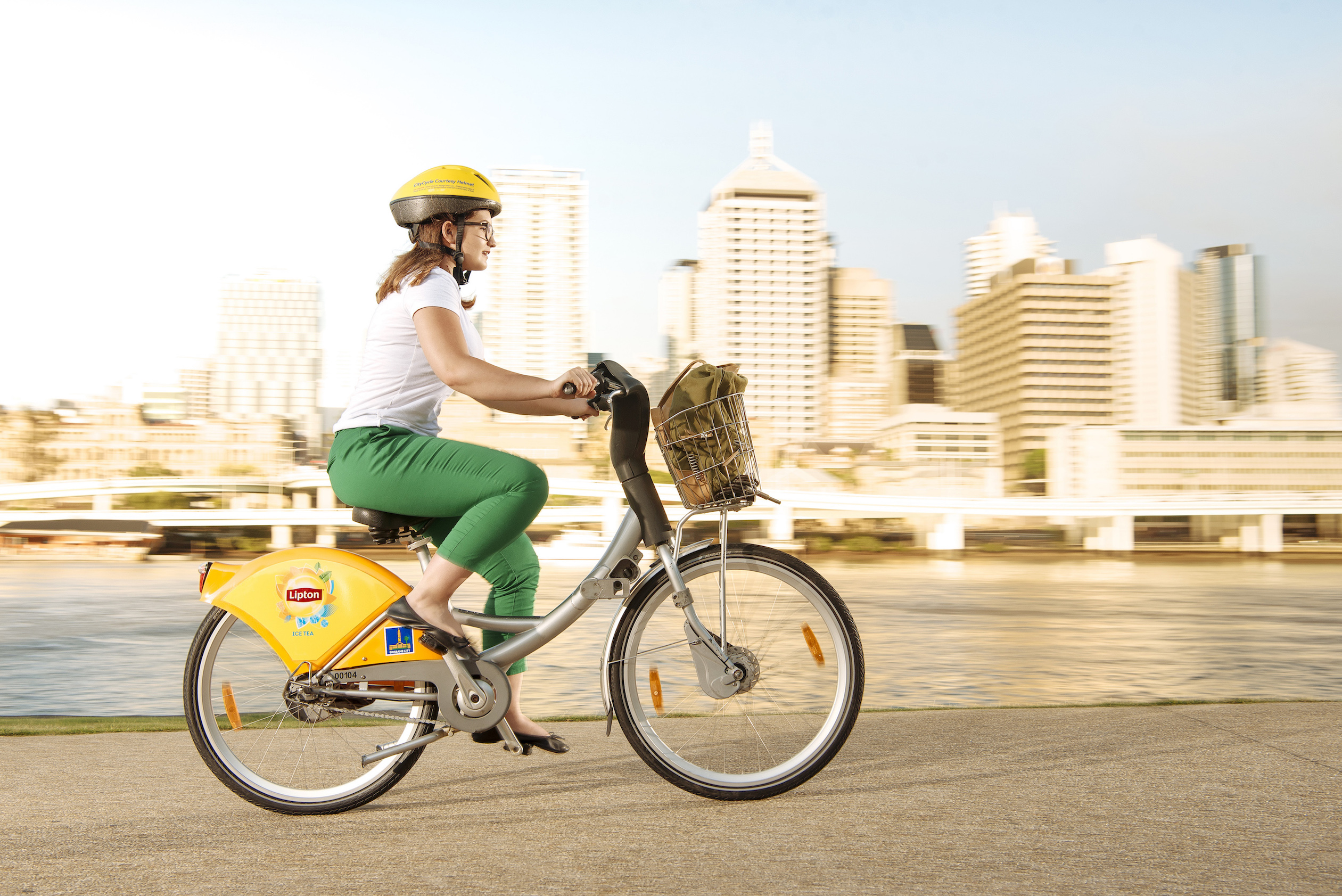 Lipton Tea Renews Sponsorship Of Jcdecaux's Citycycle Scheme photo