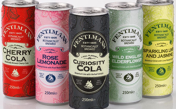 New Look For Botanical Brewer Fentimans With Slim 250ml Cans photo