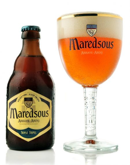 Maredsous Tripel abbey beer 900 e1499332670828 Drinks to enjoy with Fried Chicken
