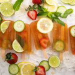 How to make your own Pimm's Popsicles photo