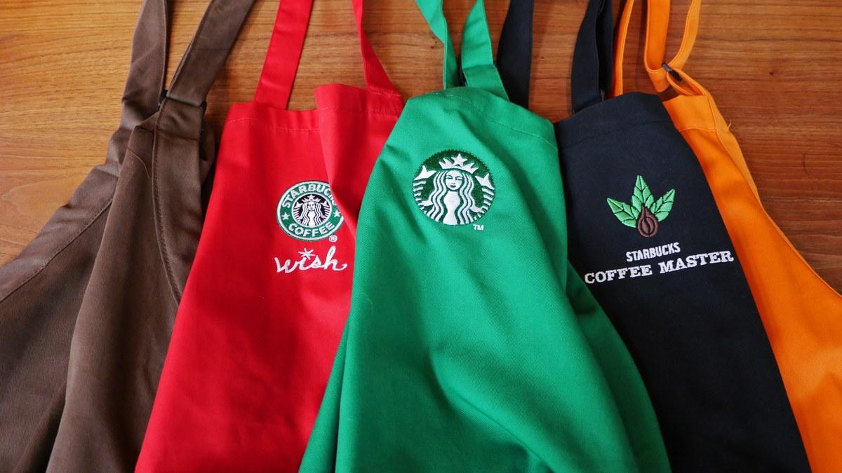 Starbucks Apron Colors Have Secret Meanings photo