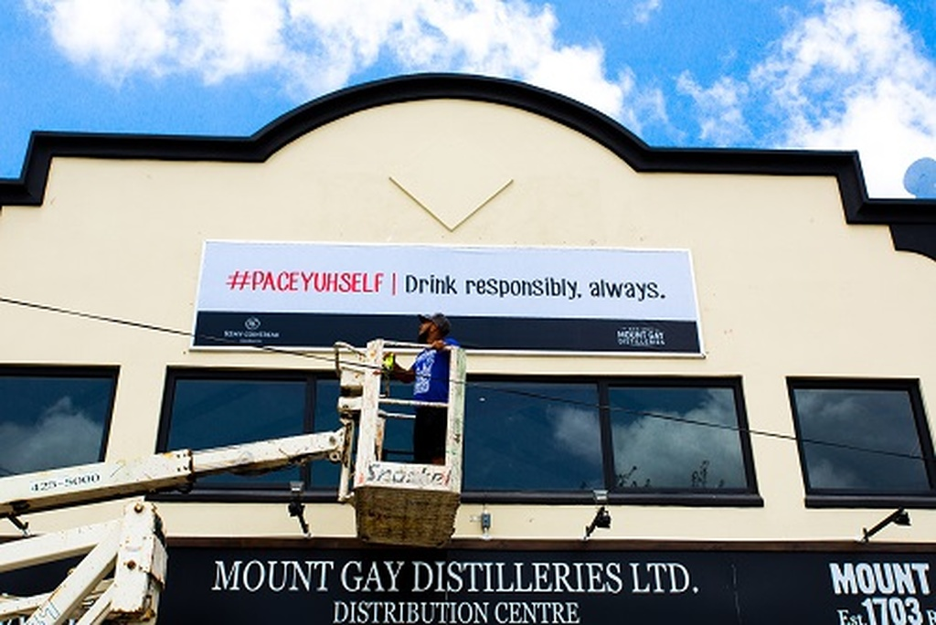 Mount Gay Reminding Drinkers To 'pace Yourself' photo