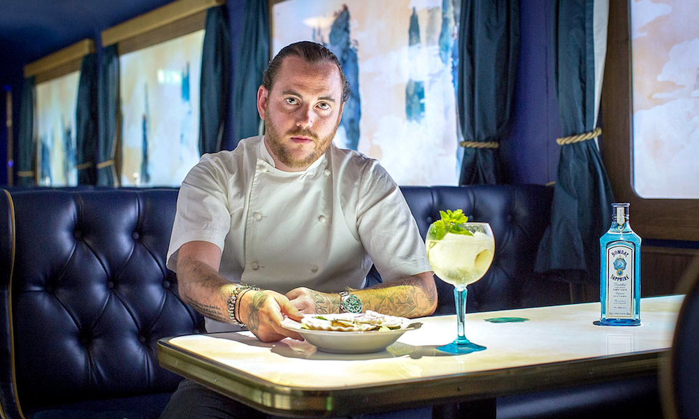 Bombay Sapphire Launches The Grand Journey Pop-up With Michelin-starred Chef Tom Sellers photo