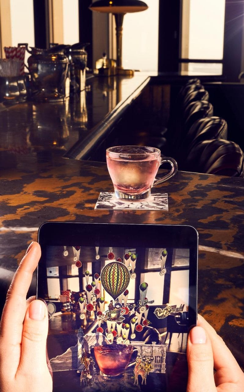 Straight Up: City Social's Augmented Reality Cocktails photo