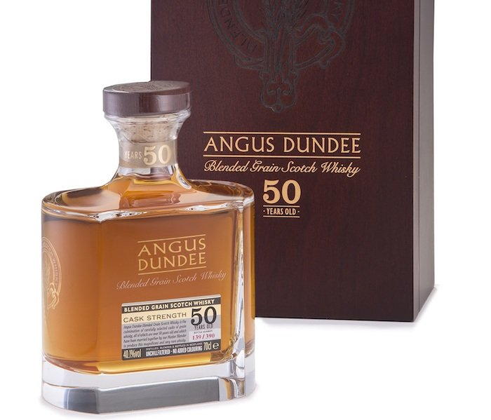 50-year-old Blended Grain Whisky Emerges From Angus Dundee photo