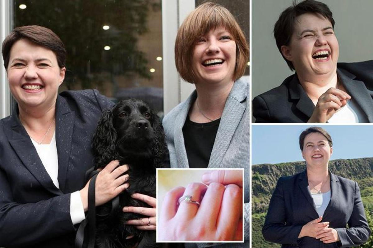 Ruth Davidson Postpones Wedding After Her Dog Gets Run Over Costing Her £10,000 photo