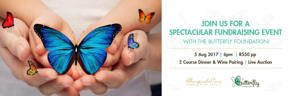 Support the Butterfly Foundation with their live fundraising auction at Benguela Cove photo