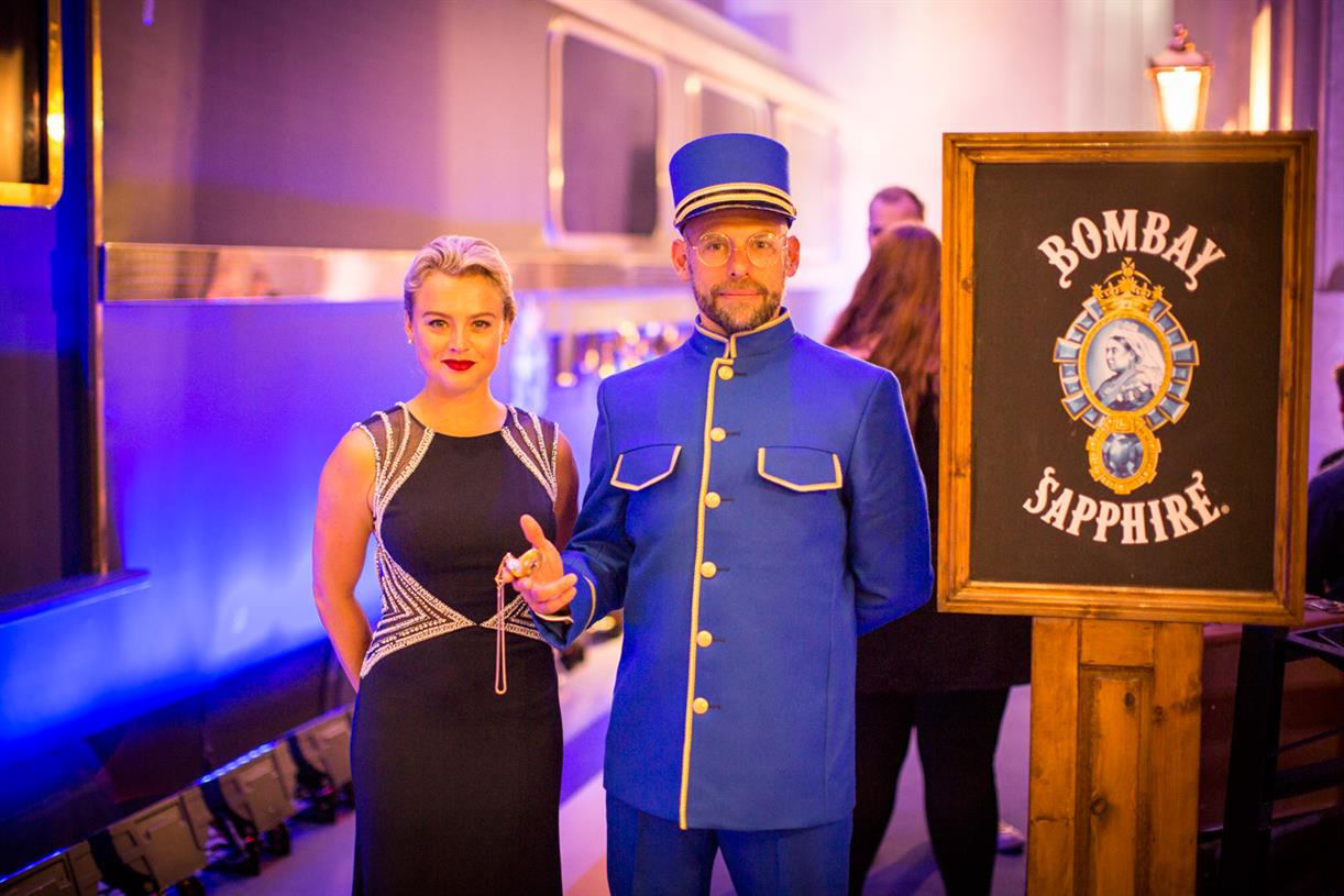 Campaign Tv: On Board Bombay Sapphire's Multi-sensory Virtual Train Journey photo