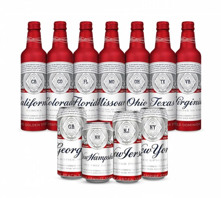 Budweiser's New Beer Cans Celebrate The States Where It's Brewed photo