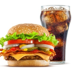 Why You Should Skip The Sugary Drink With Your Burger photo