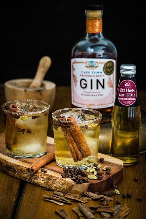 How to make a Chai Rooibos Gin and Ginger Ale Cocktail photo