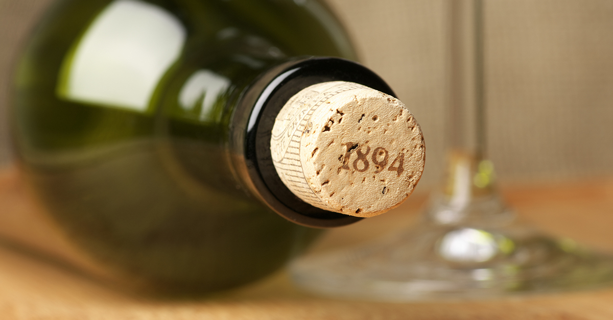 Compounds called Corklins found in cork-stoppered wines photo